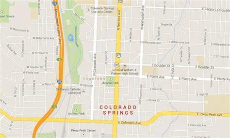 map usa springs colorado springs beautiful mountain scenery world easy