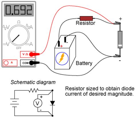 how to test the resistor feee fundamentals of electrical engineering and electronics meter check of a diode