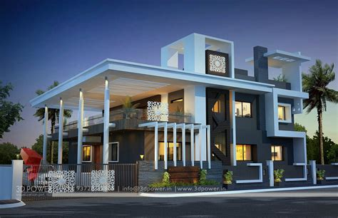 home design 3d rendering ultra modern home designs