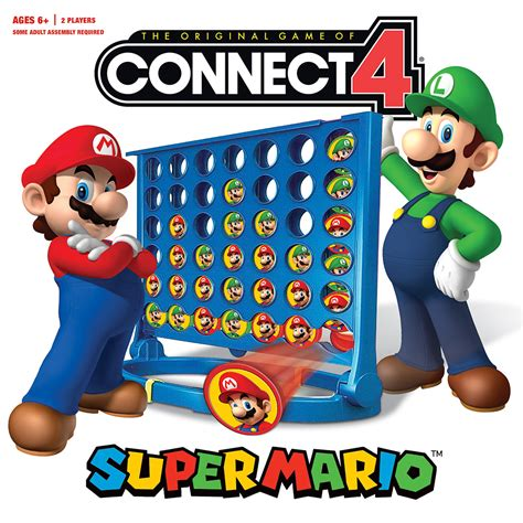 Home Design Game Rules by Connect 4 174 Super Mario Connect 4 Usaopoly
