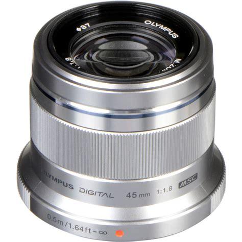 Olympus 45mm F1 8 Lens olympus m zuiko digital ed 45mm f 1 8 lens silver