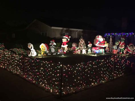 christmas lights freemont ca best light displays in fremont newark nearby bay area