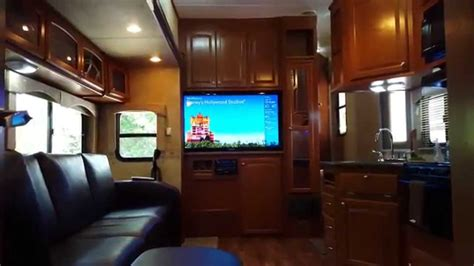 2 bedroom rvs 38ft heartland elkridge quad slide 2 bedrooms 2 bathrooms