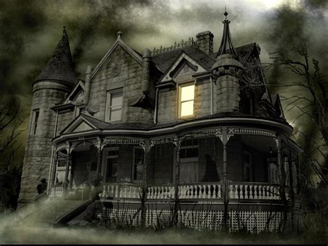 wallpaper dark house haunted wallpaper and background image 1340x1006 id 238459