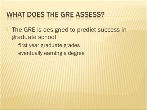 Mba Acceptance Predictor by Gre Measure Of Graduate School Success Fnl