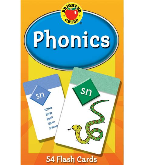 phonics flash cards grade pk 2