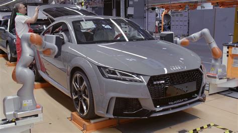 Audi Produktion by Audi Tt Rs Produktion In Gy 246 R In Ungarn