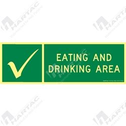 eating and drinking area safety signs signstoyou com safety signs hartac australia