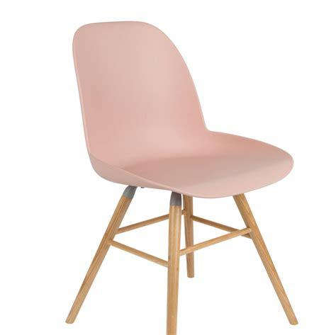 scandi chair scandinavian blush pink chair by ella james