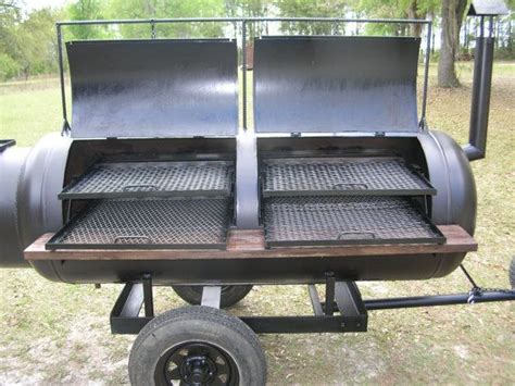 Handmade Bbq Grill - custom built barbeque bbq pit smoker grill on by
