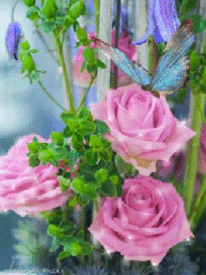 imagenes de rosas hermosas con movimiento imagenes bonitas con movimiento de flores con una mariposa