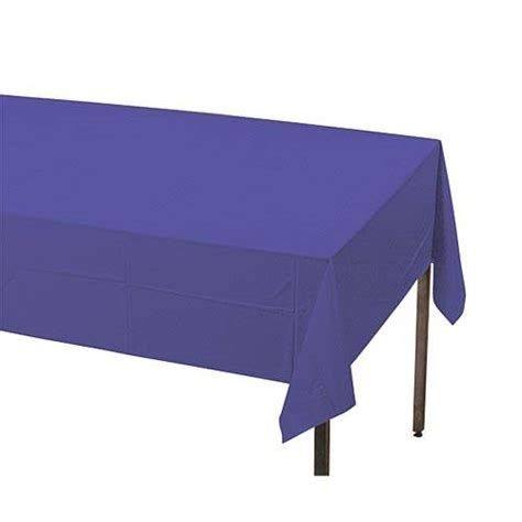 Plastic Table Covers by Purple Plastic Table Covers Shindigz