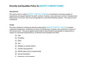 diversity policy template hr policy forms handbooks page 6 of 8 bizorb