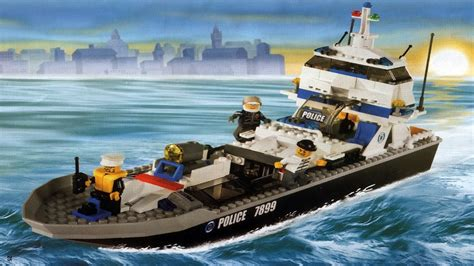 boat city lego 7899 police boat city police instruction booklet