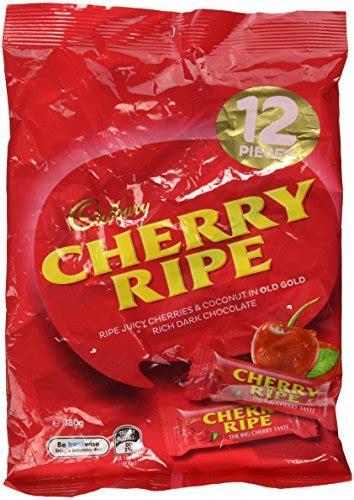 Cadbury Cherry Ripe 180g cadbury cherry ripe multipack import it all