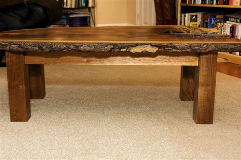 custom made coffee tables handmade walnut coffee table by design by jeff spugnardi custommade com