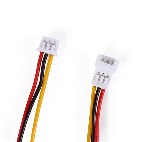 Connector Micro Jst 125 3pin 20 sets micro jst 1 25 3pin battery connector with 100mm wire ebay