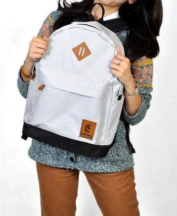 Tas Wanita Fashion Jessy 2in1 Gray tas laptop kuliah 2in1 grey corduray tas ransel remaja murah