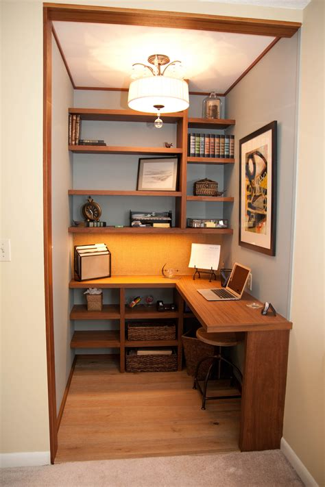 Home Office In A Wardrobe by Janet Perry Walk In Closet To Home Office 35