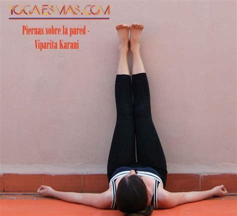 posturas de cama posturas de yoga para dormir mejor viparita karani yoga