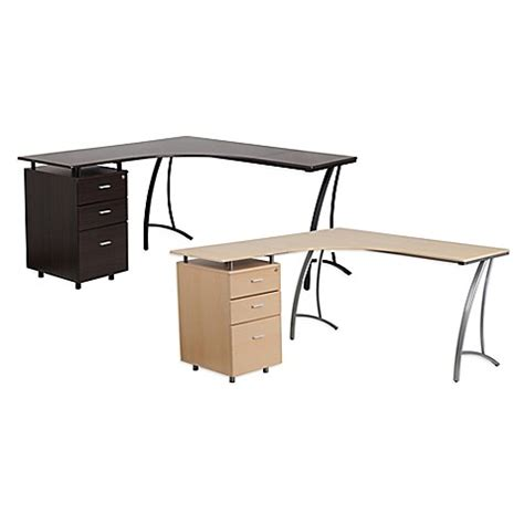 Flash Furniture Laminate L Shape Desk Bed Bath Beyond