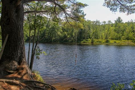 rope swing ossipee river rope swing see swim