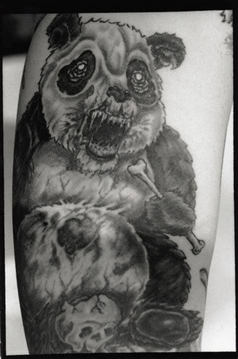 panda zombie tattoo zombie panda by iamtheriddler on deviantart