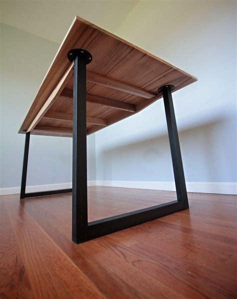 desk legs minimalist modern industrial office desk or dining table