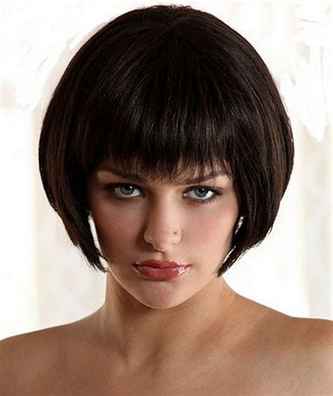 bob haircuts with fringe 2015 super short bob haircuts 2015 with full fringes full dose