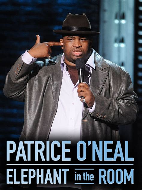 comedian elephant in the room patrice o neal elephant in the room tv show news episodes and more tvguide