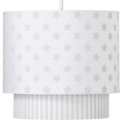 Ceiling Light Shades For Nursery by George Home Grey L Shade