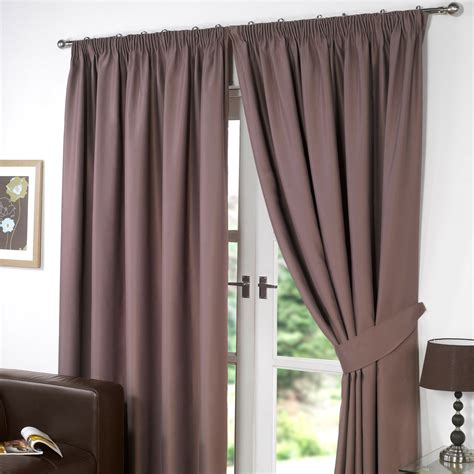 pencil pleat lined curtains thermal pencil pleat blackout pair curtains ready made