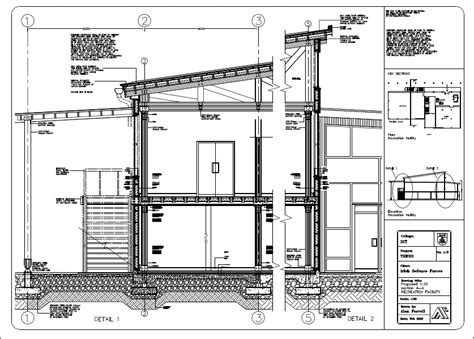 section through a building section through timber building by alanfarrell on deviantart