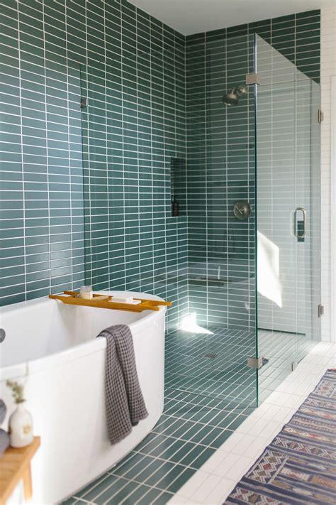 Mid Century Modern Bathroom Tile by Our Casa Bathroom Design Modern Master Bathroom
