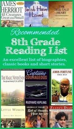 7th Grade Biography Reading List | 7th grade reading list from walking by the way family