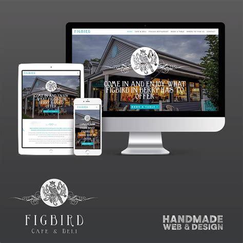 Handmade Web - a brand new website for figbird cafe and deli handmade web