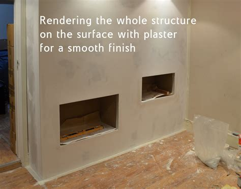 How To Build An Ethanol Fireplace by How To Build A Chimney Breast With Bio Ethanol Burner Bio Fires Gel Fireplaces Ltd