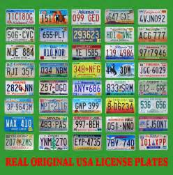Vanity Plates Indiana 40 United States License Plates Lot Number Tag Original