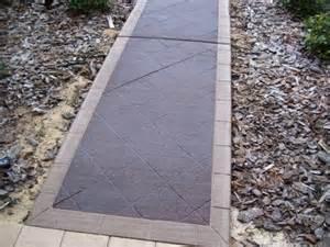 concrete walkway lastiseal concrete stain sealer