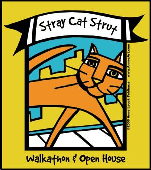 tree house humane society cat walk stray cat strut tree house humane society steve dale s pet world