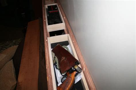 gun safe headboard secret gun compartment in headboard of bed images frompo