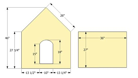 dog house floor plans 3 dog house plans