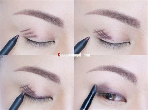 tutorial eyeshadow pencil beautiful makeup with just one pencil tutorial alldaychic