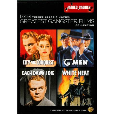 gangster film extras tcm greatest gangster films collection james cagney 2 discs