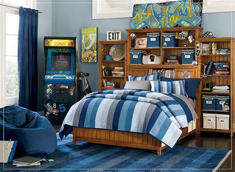 boy bedroom themes teen room ideas