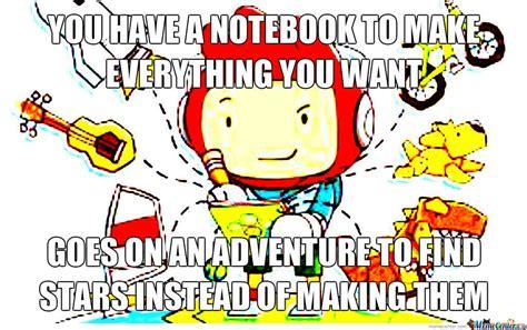 Scribblenauts Memes - scribblenauts logic by aglittercoot meme center