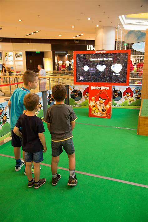 Angry Birds Isi 4 angry birds aterizeaza la sun plaza in bucatarie