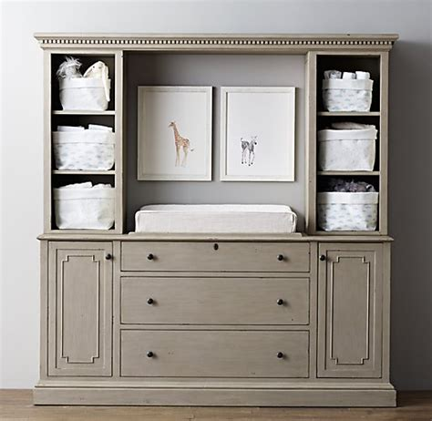 Jameson Changing Table Wall Restoration Hardware Changing Table