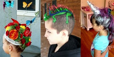 are going to love these amazing ideas for a wacky hair day at school crazy hair day at school funny and creative ideas
