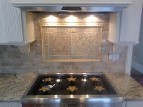 backsplash medallions kitchen 1000 images about kitchen medallions on